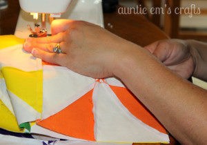 Sharing the Craft with a Rainbow Pinwheel Quilt