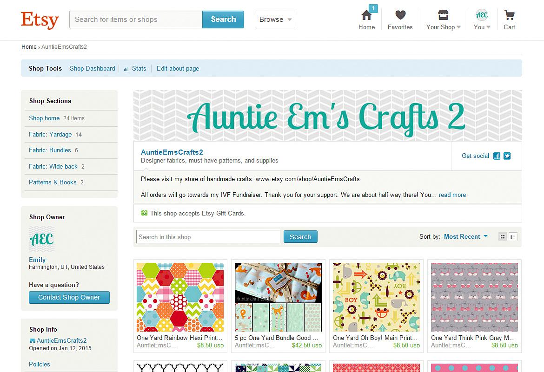 Auntie Em's Crafts 2