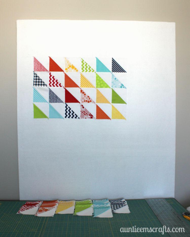 Quilter's Design Wall   AuntieEmsCrafts.com