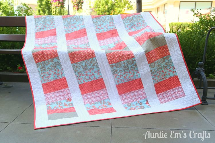 Weekend Coin Quilt Tutorial | AuntieEmsCrafts.com