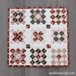 Little House on the Prairie® Granny Square Mini Quilt Tutorial
