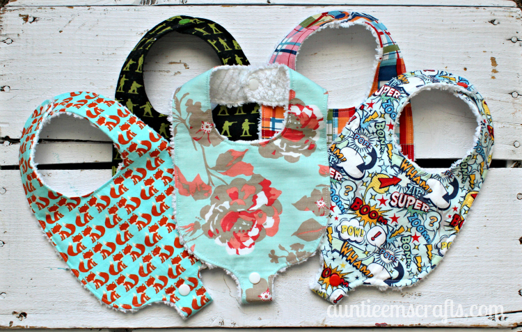 Binky Bib Pattern and Tutorial