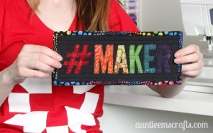 Maker Mini Wall Hanging