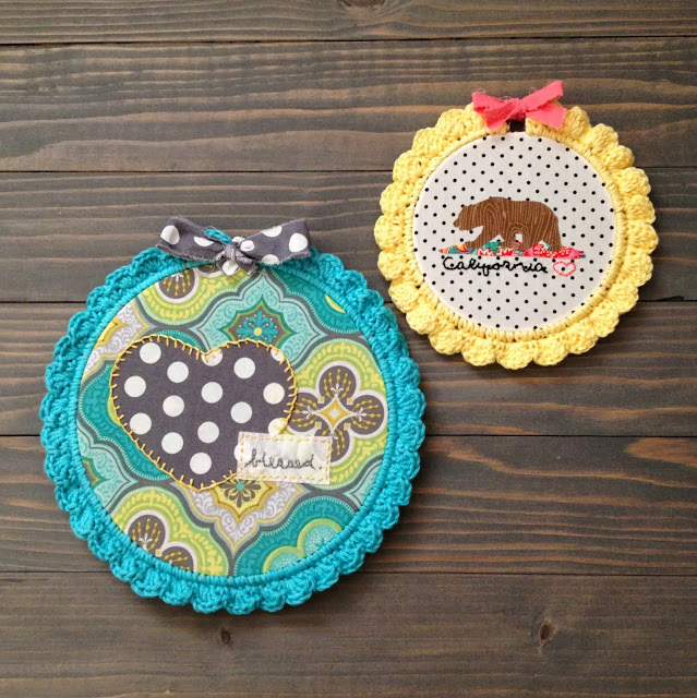 Crochet Hoops, Copyright 2013 Sew Chatty