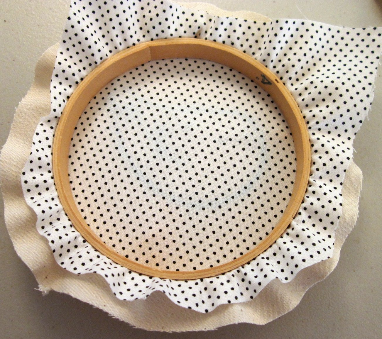 DIY Tutorial : Framed Embroidery Hoops, Copyright 2011 Lova Revolutionary