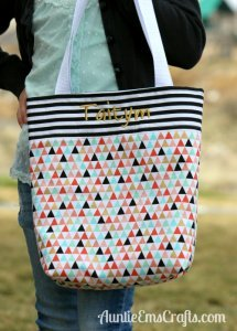 Adding Embroidery to Your Kid-Sized Tote Bag