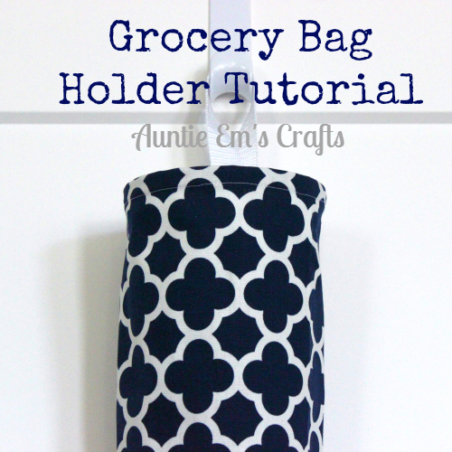 Grocery Bag Holder Tutorial & Clover Giveaway
