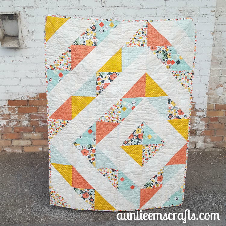 Fancy and Fabulous HST Quilt